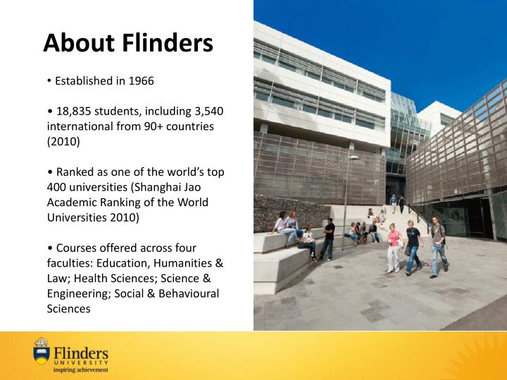 About Flinders