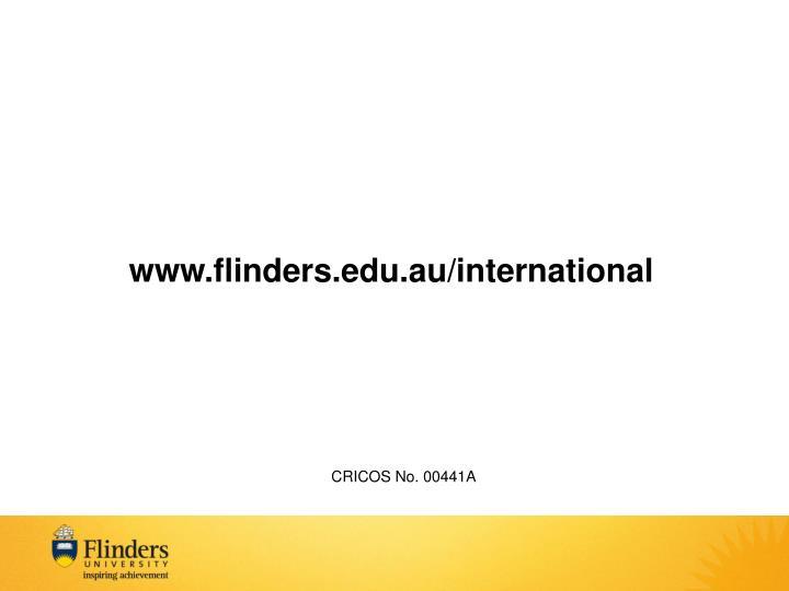 www.flinders.edu.au/international