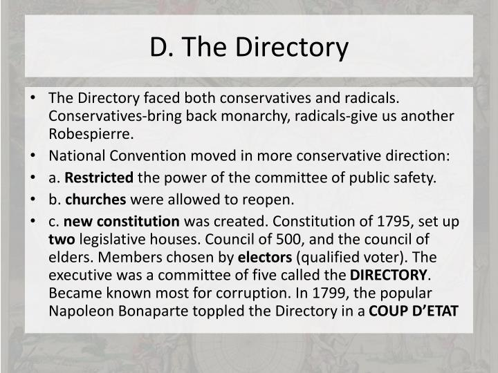 D. The Directory