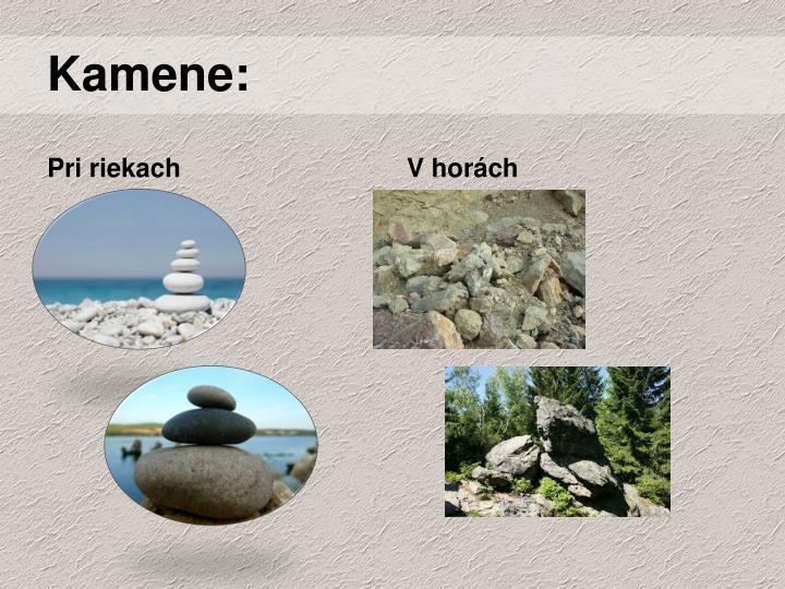 Kamene: