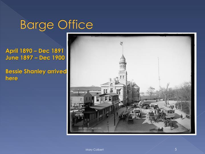 Barge Office