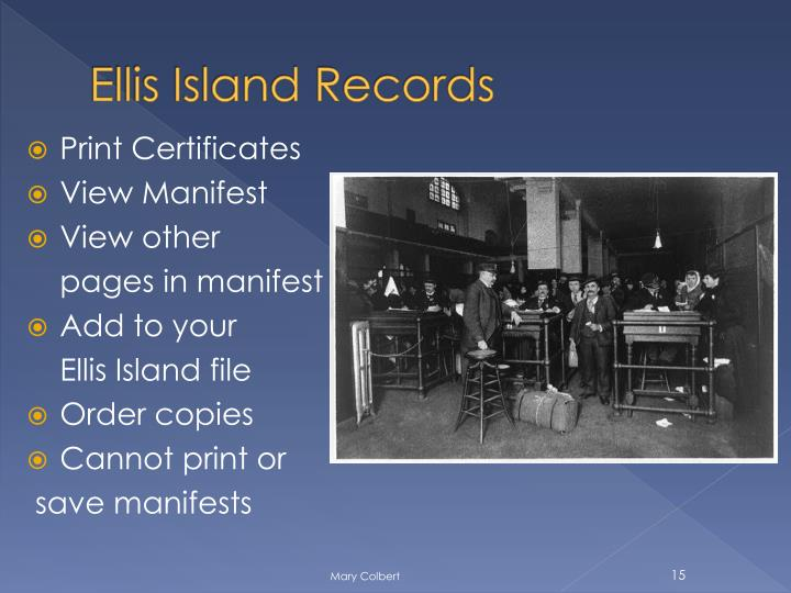 Ellis Island Records
