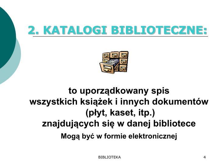 2. KATALOGI
