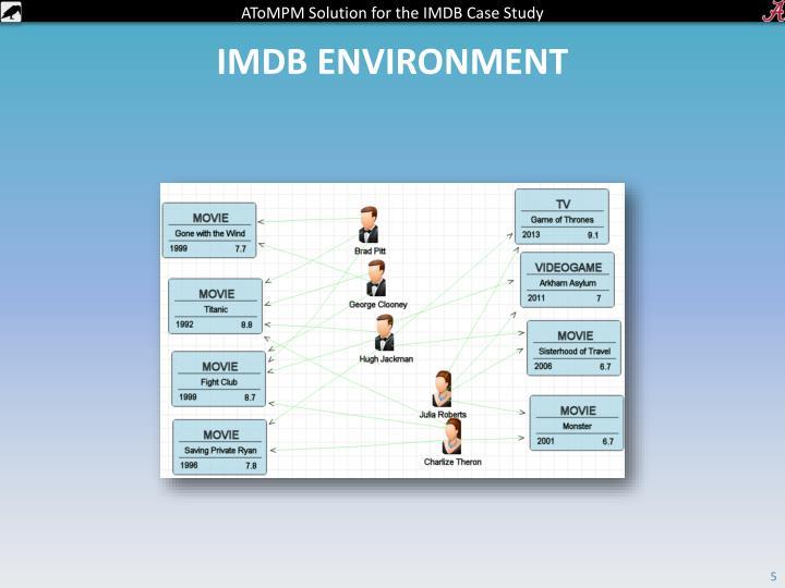 IMDB environment