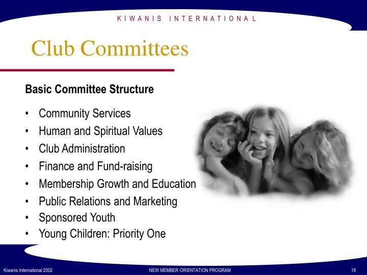 Basic Committee Structure