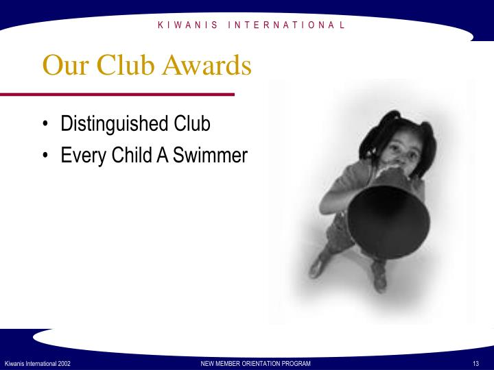 Our Club Awards