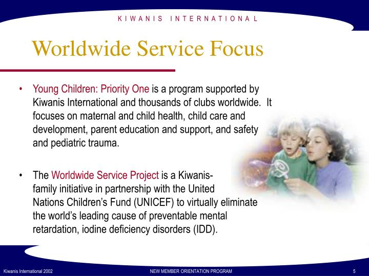 Young Children: Priority One