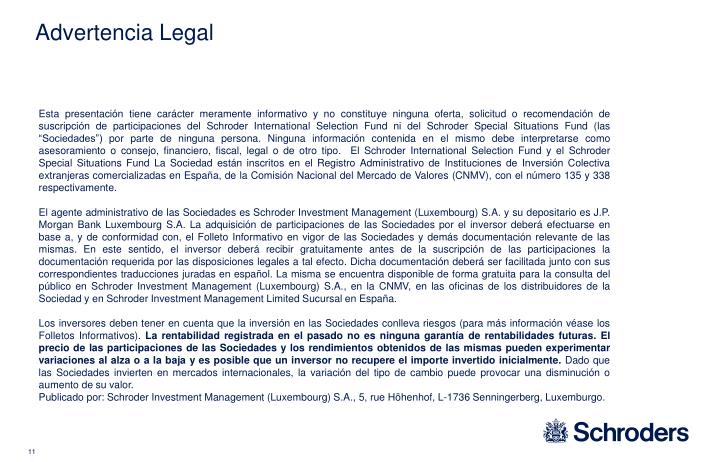Advertencia Legal