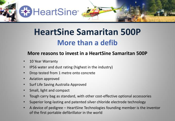 HeartSine Samaritan 500P