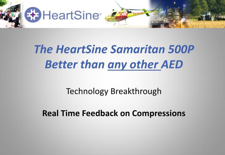 The HeartSine Samaritan 500P