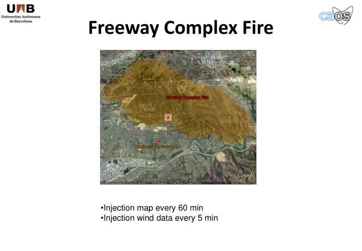 Freeway Complex Fire