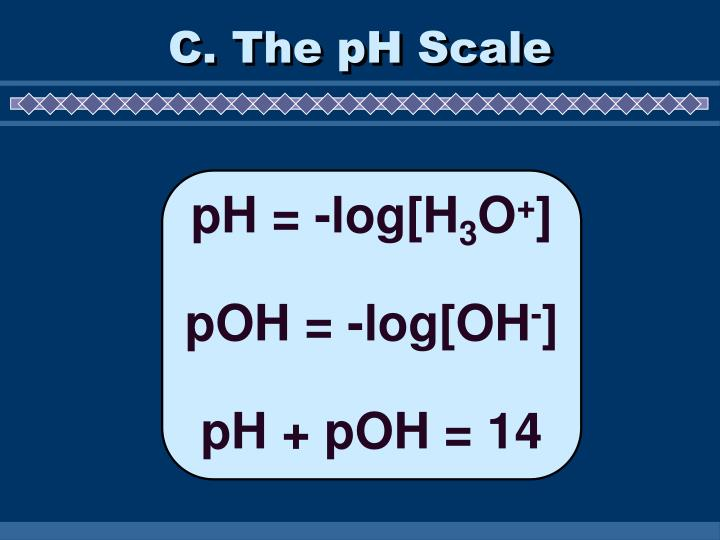 C. The pH Scale