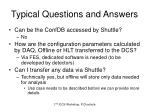 typical questions and answers