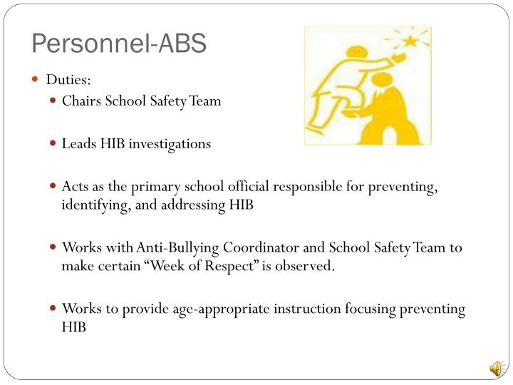 Personnel-ABS