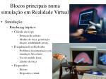 blocos principais numa simula o em realidade virtual1