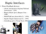 haptic interfaces3