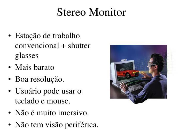 Stereo Monitor