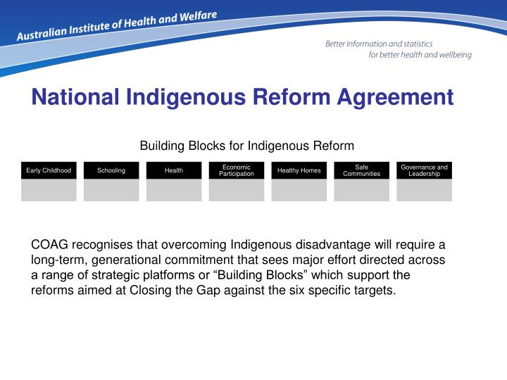 National Indigenous Reform Agreement