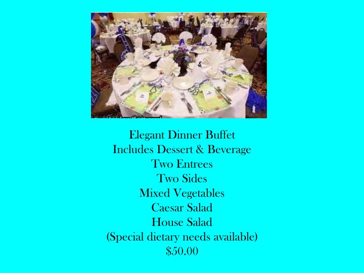 Elegant Dinner Buffet