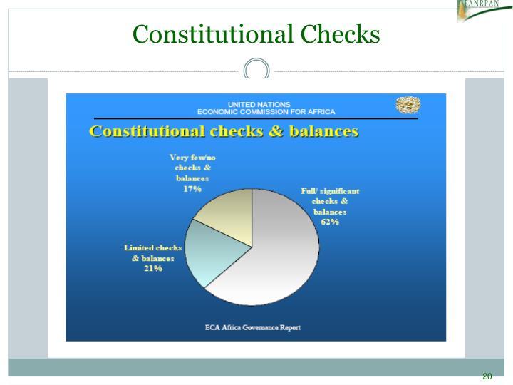 Constitutional Checks