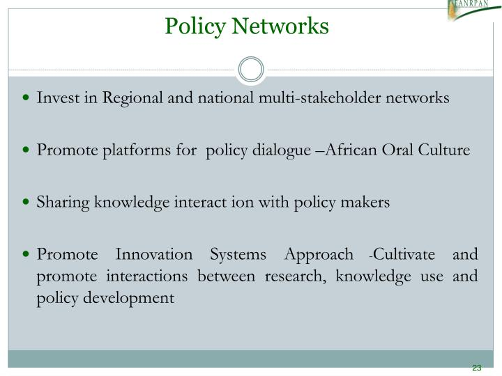 Policy Networks