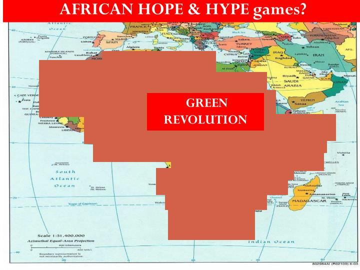 AFRICAN HOPE & HYPE games?