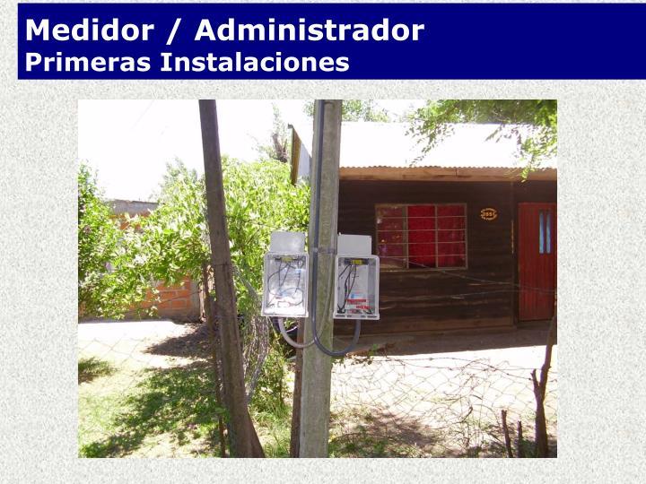 Medidor / Administrador