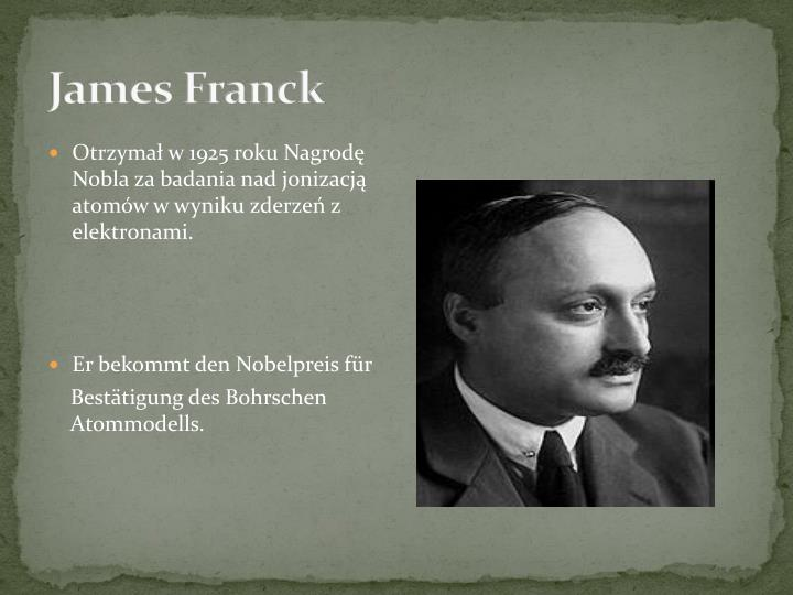 James Franck