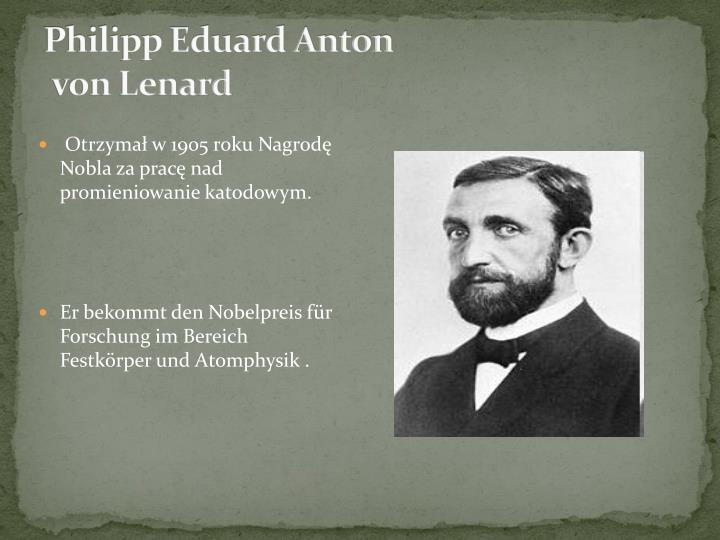 Philipp Eduard Anton