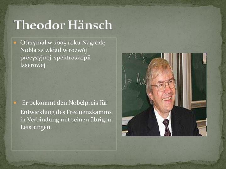 Theodor Hänsch