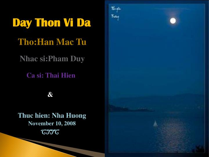 Day Thon Vi Da