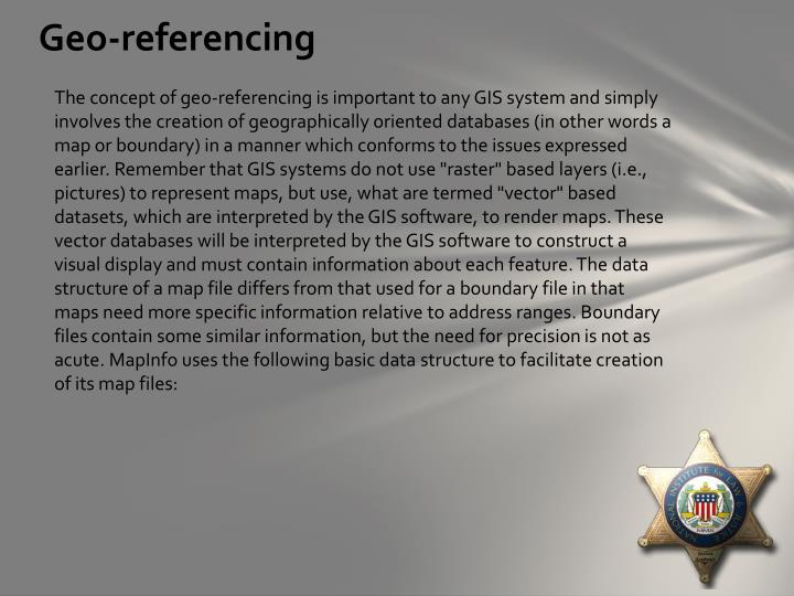 Geo-referencing