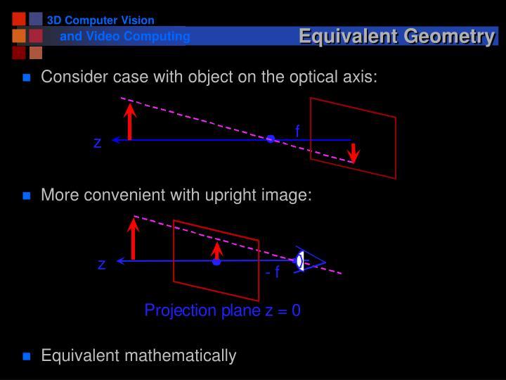 Equivalent Geometry