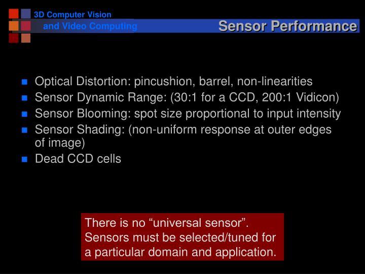 Sensor Performance