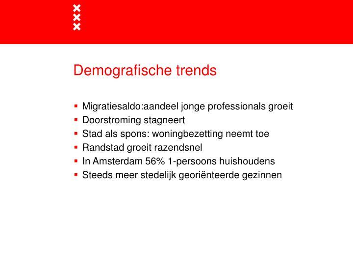 Demografische trends