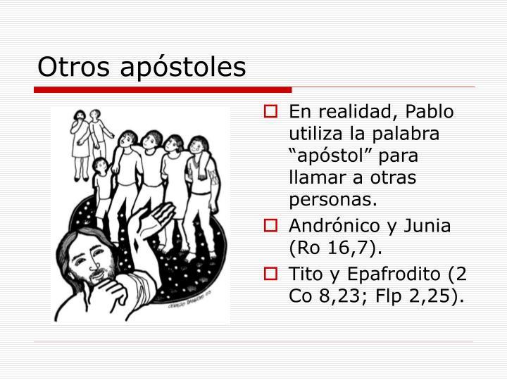 Otros apóstoles