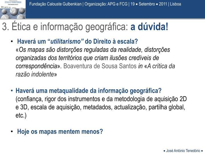 Fundação Calouste Gulbenkian| Organização: APG e FCG | 19