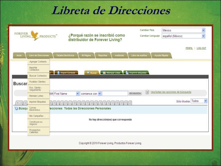 Libreta de Direcciones