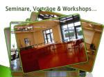 seminare vortr ge workshops