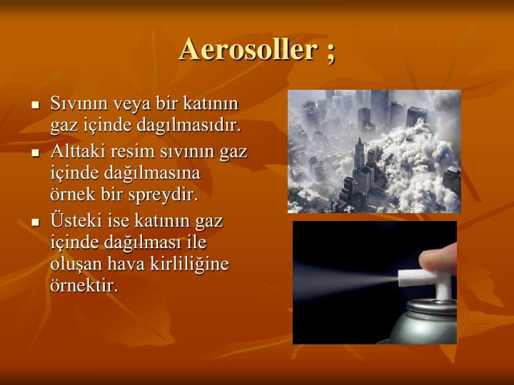 Aerosoller ;