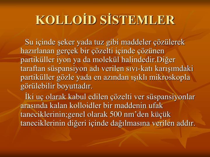KOLLOD SSTEMLER
