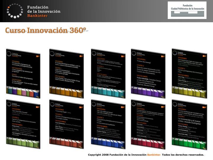 Curso Innovación 360º