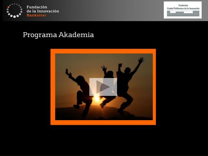 Programa Akademia