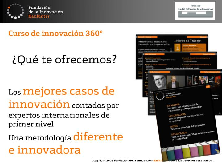 Curso de innovación 360º
