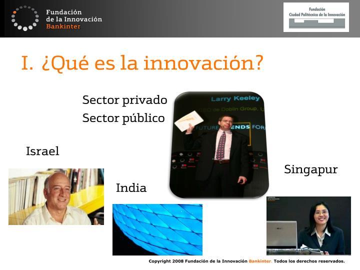 ¿Qué es la innovación?