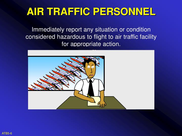 AIR TRAFFIC PERSONNEL