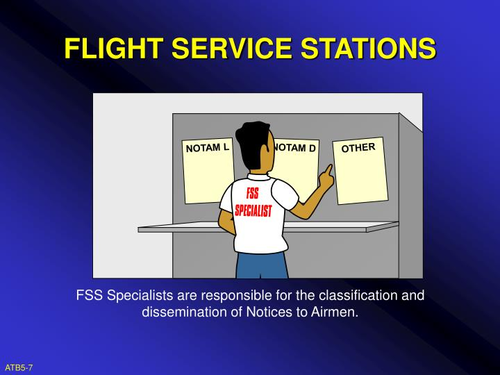 FLIGHT SERVICE STATIONS