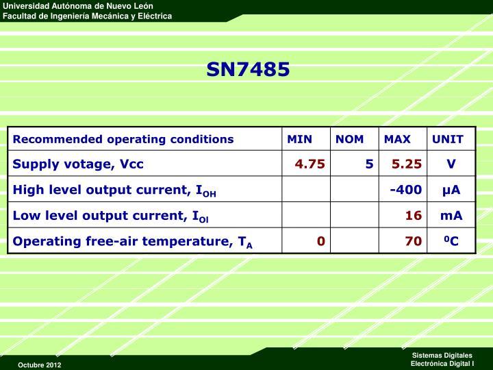 SN7485