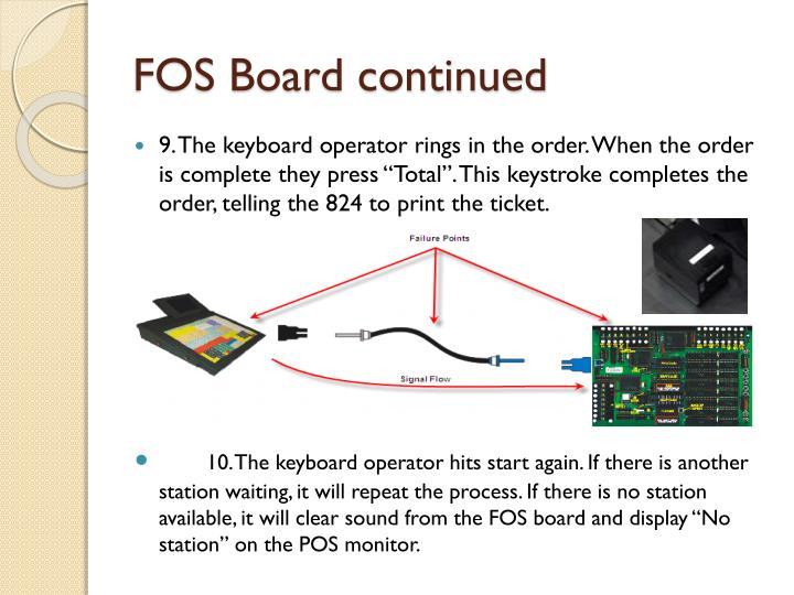 FOS Board continued