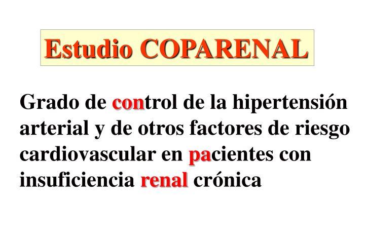Estudio COPARENAL